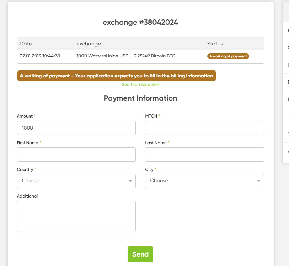 step 3 complete payment details
